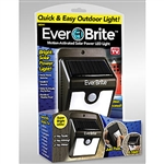 ever brite solar led outdoor light motion activated as seen on tv