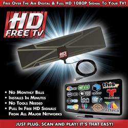 HD Free TV Antenna As Seen on TV
