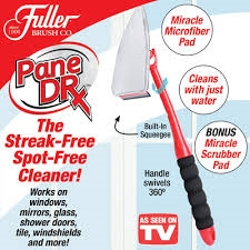 Fuller Brush Pane Dr squeegee cleaning tool As Seen On TV