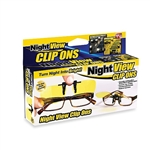 HD Night View NV Clip On Glasses