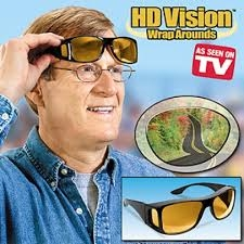 74f234a3a084 HD Vision Wrap Around Sunglasses - As Seen on TV