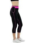 Hot Body Shapers Capris Pink