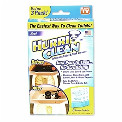 hurriclean toilet cleaner As Seen on TV