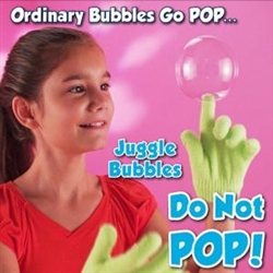 Juggle Bubbles Bubbles that don't pop