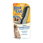 Knot Out electric pet comb grooming tool as seen on tv