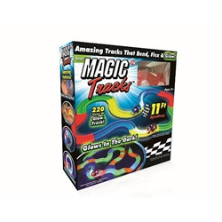 magic tracks as seen on tv glow in the dark race track