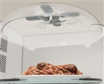 splatter guard hover cover microwave