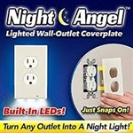 Night Angel Power Outlet cover As Seen on TV