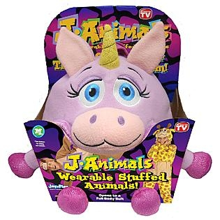 Janimals Wearable Stuffed Animals As Seen On Tv