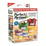get fit perfect portions portion control containers as seen on tv