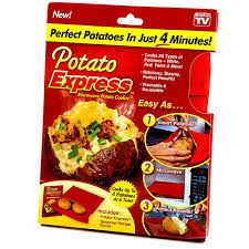 Potato Express Microwave Potato Cooker Bag