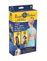 royal posture as seen on tv posture support