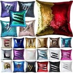 shimmer sequin mermaid pillow as seen on tv