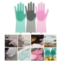 Magic Silicone Cleaning Gloves As Seen on TV
