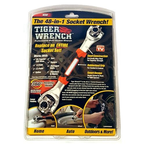 f3ad1f4cc7 Tiger Wrench Socket Wrench - As Seen on TV