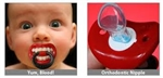 Lil Vampire Pacifier