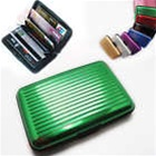 Aluminum Wallet Green