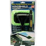 Windshield Wonder makes cleaning windshields fast and easy!