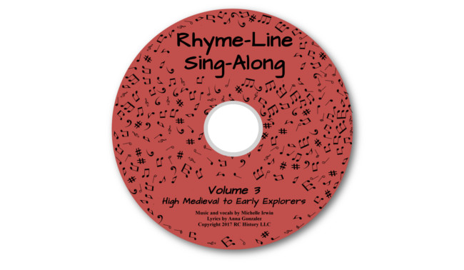 Connecting with History Rhyme-Line Sing-Along MP3 - High Medieval History