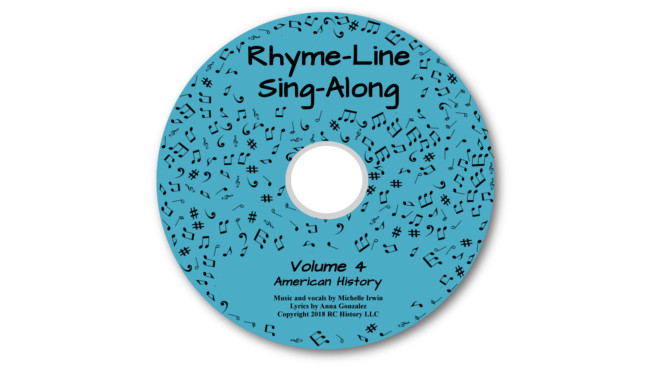 Connecting with History Rhyme-Line Sing-Along MP3 - American History