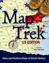 Map Trek Outline Maps of United States History [CDROM]
