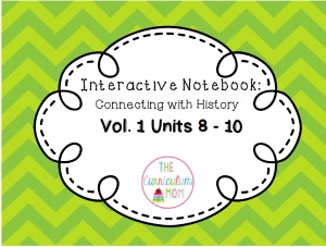 Interactive Notebook Activities Volume One: Units 8-10 (download)