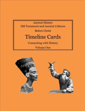 Timeline Card for Connecting with History Volume 1, Ancient History and Old Testament