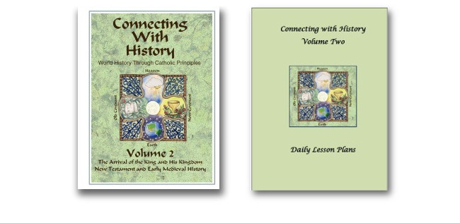 Connecting with History Syllabus & Daily Lesson Plans Set - Volume 2