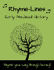 Rhyme-Line Cards, Volume 2 Connecting with History, Early Medieval