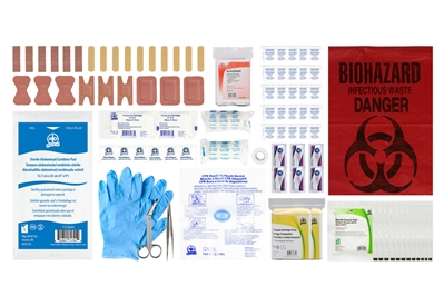 ABC MANITOBA FIRST AID KIT REFILL - BASIC - CSA TYPE 1 SMALL