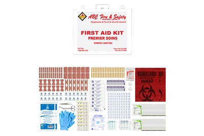 ABC MANITOBA FIRST AID KIT - BASIC - METAL CASE - CSA TYPE 2 LARGE