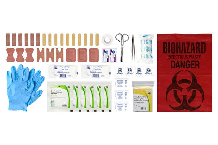 ABC MANITOBA FIRST AID KIT REFILL - PERSONAL - CSA TYPE 1
