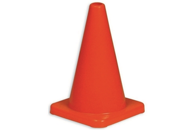 "ABC 18"" ORANGE WEIGHTED TRAFFIC CONES"