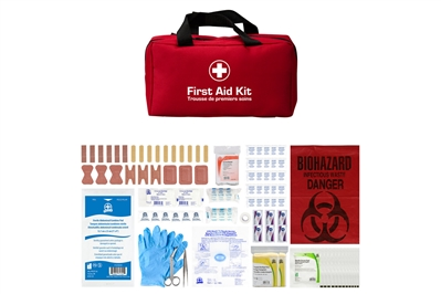ABC MANITOBA FIRST AID KIT - BASIC - SOFT PACK - CSA TYPE 2 SMALL