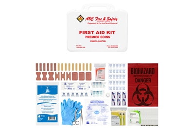 ABC MANITOBA FIRST AID KIT - BASIC - PLASTIC CASE - CSA TYPE 2 SMALL