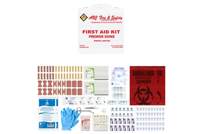 ABC MANITOBA FIRST AID KIT - BASIC - METAL CASE - CSA TYPE 2 MEDIUM