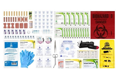 ABC MANITOBA FIRST AID KIT REFILL - INTERMEDIATE UNITIZED - CSA TYPE 3 SMALL