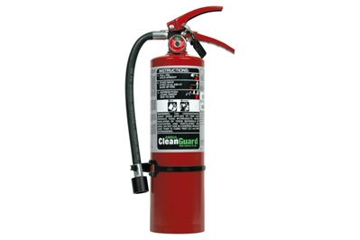 ANSUL CLEANGUARD CLEAN AGENT FIRE EXTINGUISHER - 5 LB.