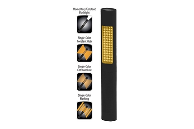 BAYCO NIGHTSTICK PRO 2-IN-1 FLASH/SAFETY LIGHT - AMBER LED