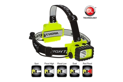 NIGHTSTICK INTRINSICALLY SAFE DUAL-LIGHT HEADLAMP