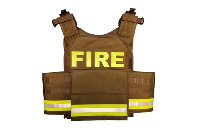 F2 UNIVERSAL PLATE CARRIER - RESCUE TASK FORCE BODY ARMOR - FIRE / EMS