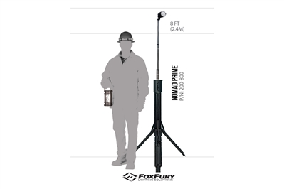 FOXFURY NOMAD PRIME PORTABLE AREA SPOT LIGHT