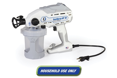 GRACO SANISPRAY HP 10 CORDED AIRLESS DISINFECTANT SPRAYER