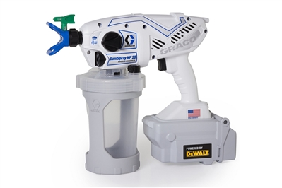 GRACO SANISPRAY HP 20 CORDLESS HANDHELD AIRLESS DISINFECTANT SPRAYER