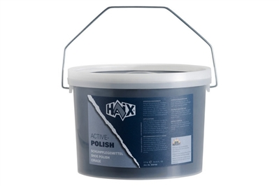 HAIX LEATHER BOOT POLISH - 5.5 LB. PAIL