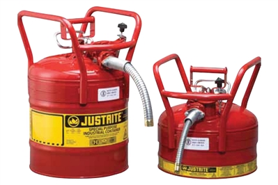 JUSTRITE ACCUFLOW SAFETY CANS