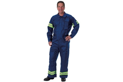 LAKELAND FYREPEL OSX 911 EXTRICATION COVERALL - XL RED