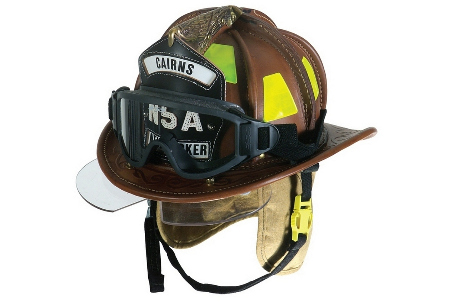 discount leather fire helmets