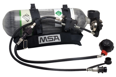 MSA RESCUEAIRE II PORTABLE AIR-SUPPLY SYSTEM