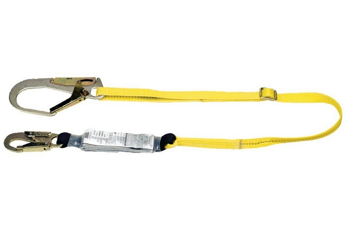 MSA WORKMAN SHOCK ABSORBING LANYARD